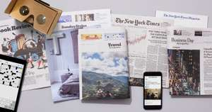 New York Times - subscription offer 60% off