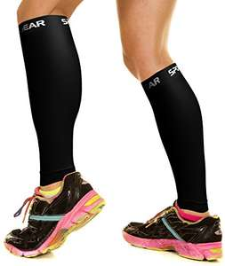 Calf Shin Compression Sleeves for Jogging, Running, Walking, 4.67 (Prime)  6.67 (Locker Pickup) Sold by Physix Gear and Fulfilled by Amazon.