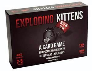 Exploding Kittens: NSFW Edition (Explicit Content - ADULTS ONLY!) £15.99 Prime / £19.98 Non Prime @ Amazon