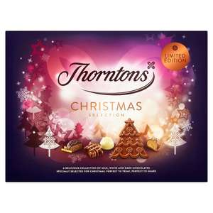 Thorntons Seasonal Milk, Dark & White Selection 457g - now £5 at Morrisons