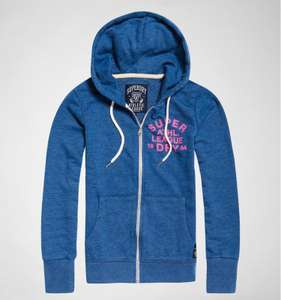 Superdry Womens Hoodie (Blue) £29.99 -  tReds