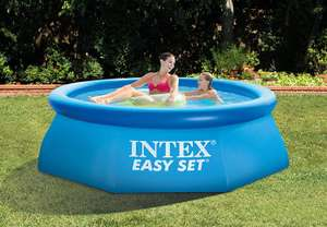Intex Easy Set Pool without Filter - Blue - 8 foot £6.81 Prime (£11.56 Non Prime) @ Amazon