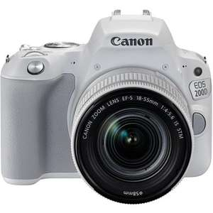 Canon 200D with 18-55mm IS STM Lens £489 at Park Cameras + £50 Cashback from canon