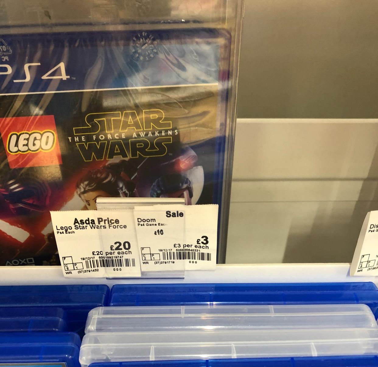 Doom - £3 at Asda instore