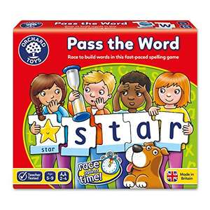 Orchard Toys Pass the Word Game £3.80 (Prime) / £7.79 (non Prime) at Amazon