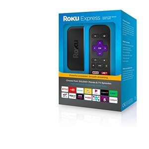 Roku Express Streaming Player £24 at Amazon - Prime Exclusive