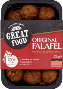 Great Food Moroccan or Mediterranean Falafel 300g) was £2.95 now Only £2.00 @ Sainsbury's