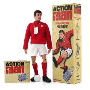 Action Man 50th Anniversary Footballer Figure - now £9.96 /  Action Man 50th Anniversary Soldier Figure £19.96 @ Toys R Us + Others