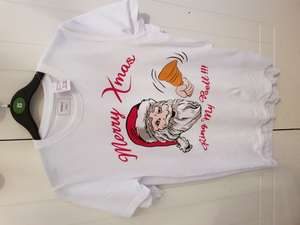 Christmas t-shirts/ tops reduced poundland /pep&co - £1.50 @ Poundland