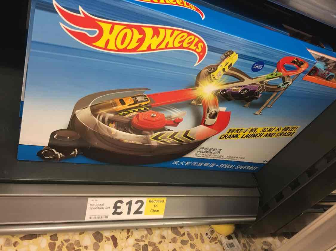 Hot Wheels Spiral Speedway £12 @ Tesco Beaumont Leys