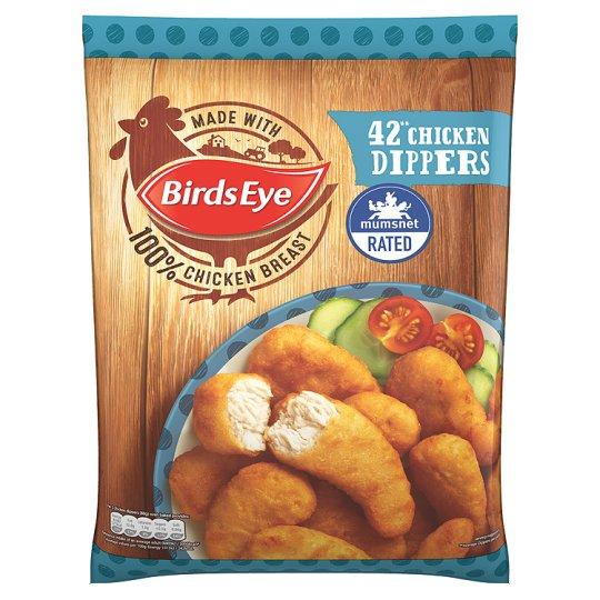 Birds Eye 42 Crispy Chicken Dippers 770G Save £1.00 Was £4.00 Now £3.00 @ Tesco