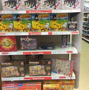 Half price games at Sainsbury's(hanley) instore including monopoly £11