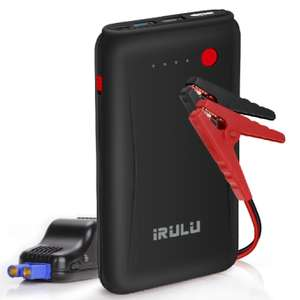 iRULU Car Emergency Jump Starter (up to 6L Gas, 4.5L Diesel Engine) 10800mAh Portable Power Bank Battery £39.99 Sold by All Great GmbH and Fulfilled by Amazon.