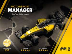 Motorsport Manager Mobile 2 - 99p on iOS