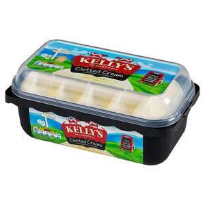 Kelly's Ice Cream 1litre/950 ml was £3.99 now half-price(£2) @ Tesco Online and InStore