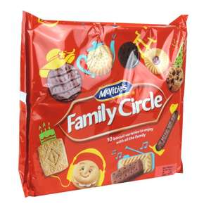McVities Family Circle biscuits 360g box at Home Bargains - £1