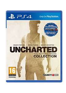 Uncharted: The Nathan Drake Collection (PS4) @ base.com £16.85