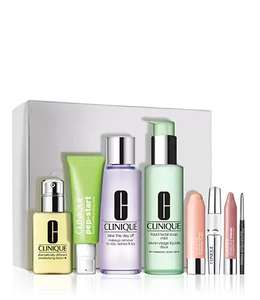 CLINIQUE OFFER + FREE GIFT - spend £40 and get favourite collection for £45
