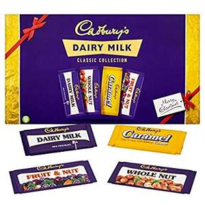 Cadbury Dairy Milk Retro Selection Box (460g) PACK OF 8 - £23.99 at Amazon (works out at about £2.99 per 460g box, or 75p per 120g bar)