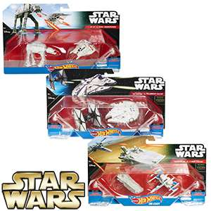 Star Wars Hot Wheels: Starship 2-Pack - £1.99 @ Home Bargains