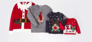 Half price Christmas Jumpers / Pyjamas and MORE @ Sainsbury's instore