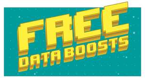 Free 10gb Data boost on selected  sim's when purchasing a £10 bundle at ee