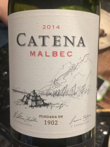 Catena Zapata Argentinian Malbec  Waitrose 25% off selected wine - £9.99