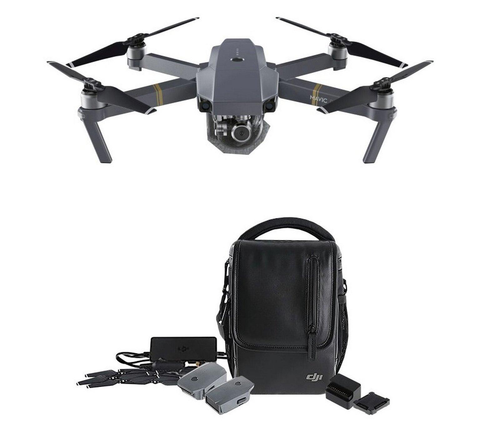 DJI Mavic Pro 4K Quadcopter Drone Fly More Combo + Free Extra Battery @ Argos - £1099.99