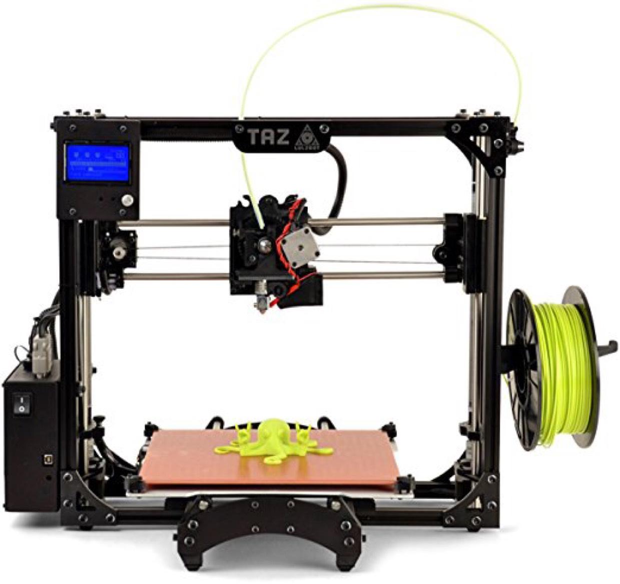 Lulzbot Taz 5 3D Printer Bargain Price - £571.78 @ Amazon