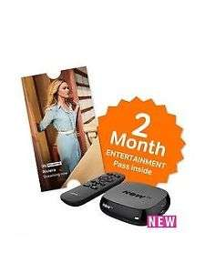 NOW TV Box with 2 Months Entertainment Pass and free Sky Store rental worth £5.49  - £16.99 on Boss Deals / eBay - £16.99