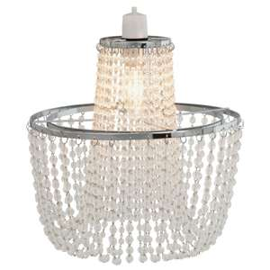 Angelica Chrome Pendant Light £5 at Homebase