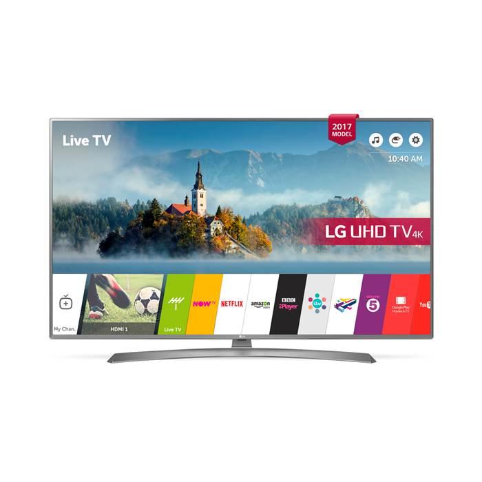 LG 49UJ670V- 49inch 4K UltraHD HDR Smart LED TV in Silver £479 @ Co-op electrical