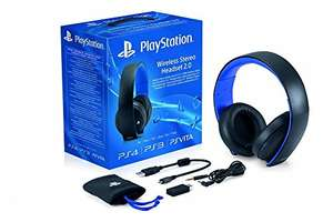 Official PS4 Wireless headset Black/White £49.99 Amazon
