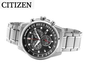 Citizen Eco-Drive Men's Stainless Steel Bracelet Watch, £99.99 from H.Samuel