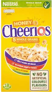 Nestlé Honey Cheerios (565g) - £2 @ Sainsbury's