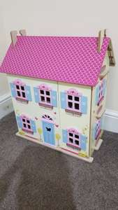 Little Town Wooden Dolls house @ Aldi instore only £10 (Preston)