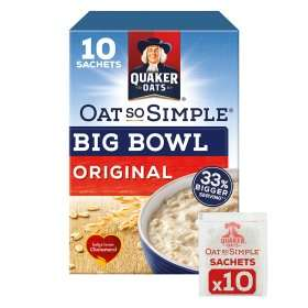Rollback Deal - Quaker Oat So Simple Big Bowl Original Porridge @ Asda, was £2.44