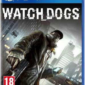 Watch dogs PS4 £4 @ CEX - preowned