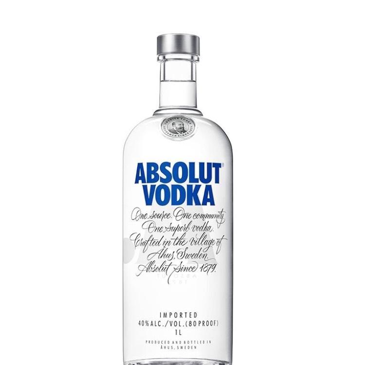 1L Absolut Vodka £18 if you have amazon Prime / £22.75 non prime