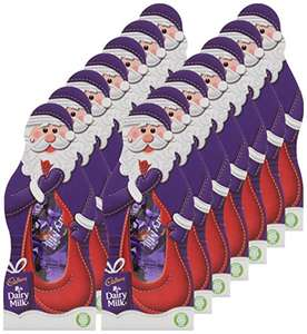Cadbury Dairy Milk Santa Gift Chocolate Pack, 96 g, Pack of 14 £12.99 prime / £17.74 non prime @ Amazon
