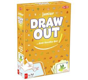 Tactic Games Junior Draw Out board game £4.99 @ Quality Save