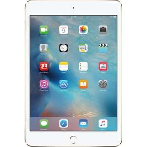 Apple iPad Mini 4 128GB Wifi Tablet - Gold £292.99 @ Eglobal central