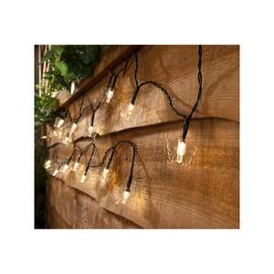 Butterfly and hearts solar string lights £1 @ Homebase