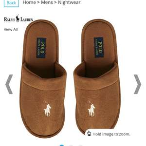 Ralph Lauren Slippers FROM £24.99 / £29.48 delivered @ M&M Direct