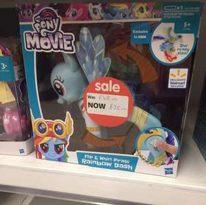 My little pony, flipping pony toy £25 in Asda