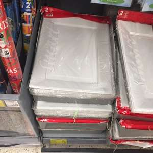 Disposable (even reusable) food trays 75p in Asda - Park Royal