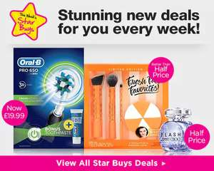 Oral B Pro 650 Electric Toothbrush + Pro-Ex Toothpaste 75ml £19.99 @ Superdrug