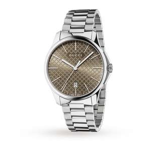 Gucci G-Timeless Mens Watch - WAS £660 at Goldsmiths for £460