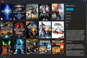 Playnite is open source video game library manager with one simple goal: Provide unified interface for all your games.
