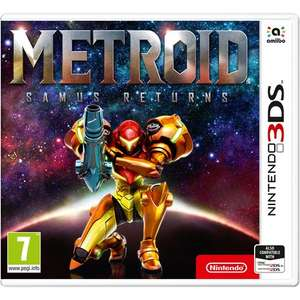 Metroid Samus Returns £24.99 @ Smyths